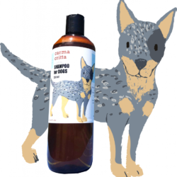 ALL NATURAL SHAMPOO FOR DOGS 500ML