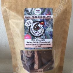 Milk Chocolate – Quandong (Guwandang) – Macadamia Nut (Boombera)