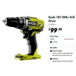 Ryobi Drill Donation