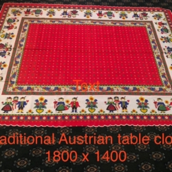 Traditional Austrian Table Cloth