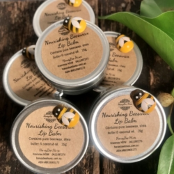 All Natural Beeswax Lip Balms