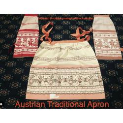 Vintage Style Austrian Apron