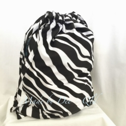 DRAWSTRING BAG | Zebra