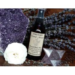 Amethyst + Lavender   Crystal Infused Alchemy Mist   Sacred Skincare