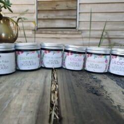 Natural Deodorant ~ Patchouli & Geranium