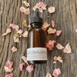 Face oil ~ Getting of Wisdom