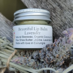 Beautiful Lavender Lip Balm