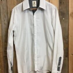 Talisman shirt- white stripes