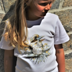 Kookaburra Short Sleeve TShirt | Organic Cotton | Made in Australia