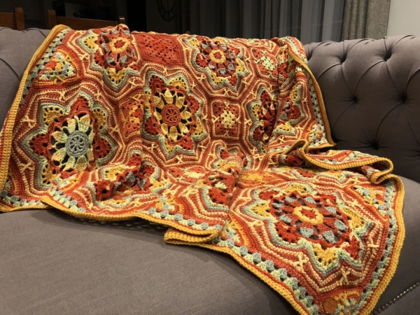 Persian Tile Blanket