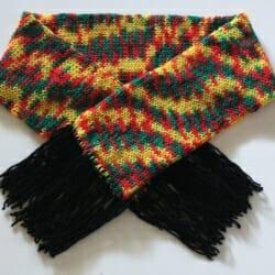 Handmade Knitted Bob Marley Scarf