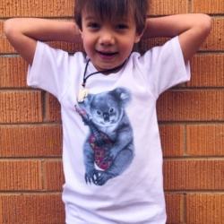Koala T Shirt | Organic Cotton | Short Sleeve Tee