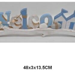 Woodrift WELCOME Sign