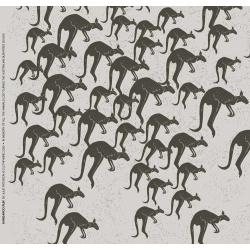 Kangaroo Run fabric