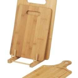Bamboo Cutting Boards set/3 with Stand