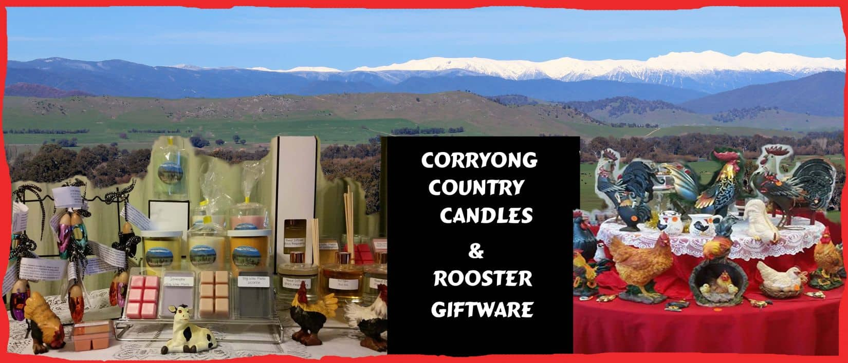 Corryong Country Candles & Rooster Giftware