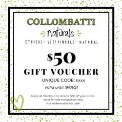 Collombatti Naturals Gift Vouchers