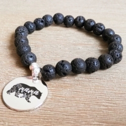 Handmade Mama Bear Infusion Bracelet