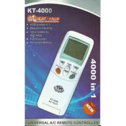 Universal Air Conditioner Remote Controller – KT-4000