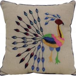 Cushion Bird Folk Polyester filled