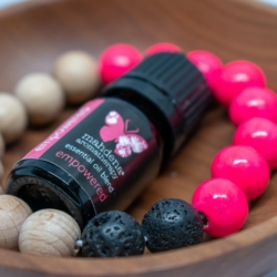 Lava bead and Empower oil gift pack