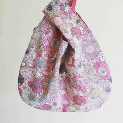 Japanese Knot Bag – Pink Floral
