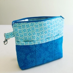 Handmade Handbag Organiser – Shades of Blue