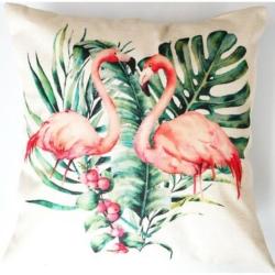 Cushion Cover Flamingo Lovers