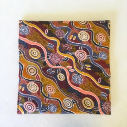 Handmade Ladies Purse – Aboriginal Print