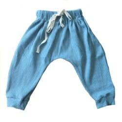 Ribbed Harem Pants