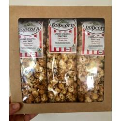 Salted Caramel Popcorn 3 Pack