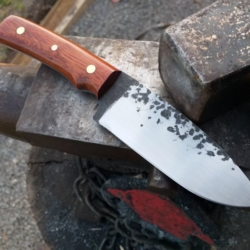 SOLD Hand Forged Bush Knife *FREE POSTAGE*