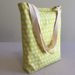 Reversible Tote Bag – Lemon & Mustard