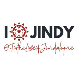 BUMPER STICKER – I HEART JINDY – FOR THE LOVE OF JINDABYNE free postage
