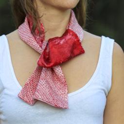 Scarf – Shibori tie dye