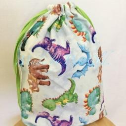 DRAWSTRING BAG | Dinosaurs