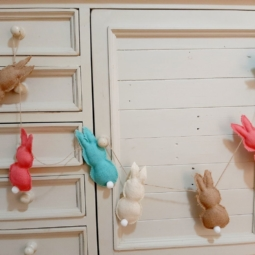 Bunny Bunting perfect gift idea