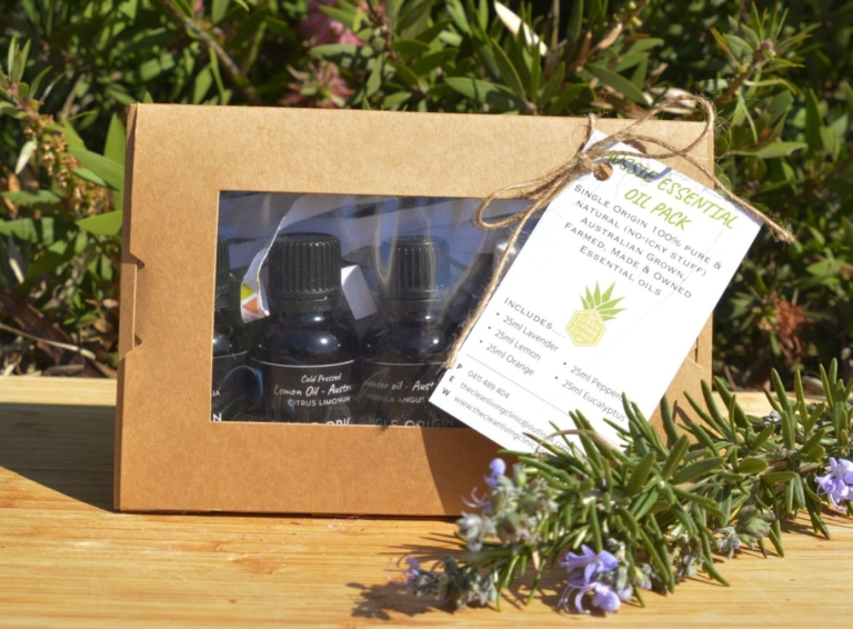 Aussie essential - !00% pure Australian essential oil pack