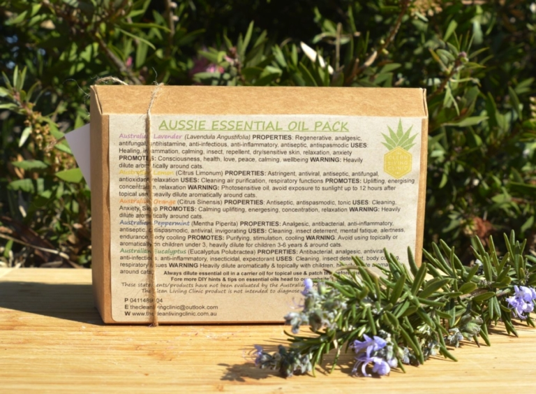Aussie essential oil pack reverse - The Clean Living Clinic