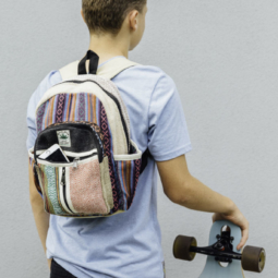 Natural Fibre Levi mini back pack