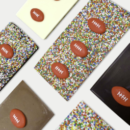 100g Footy Bar Belgian Chocolate