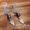 Freshwater-Arrowhead-Dangle-Earrings