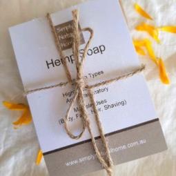 All Natural Hemp Soap Bilberry & Calendula