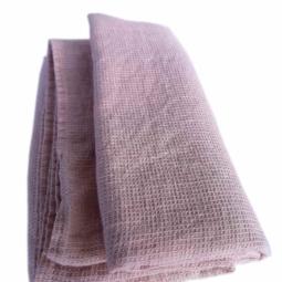 Linen Bath Sheet Washed Waffle – Blush Rose