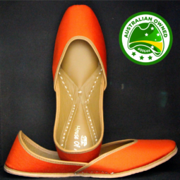 Just Orange Shoes