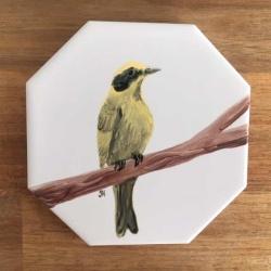 Australian Bird Ceramic Tile Coaster II