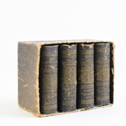 A RARE SET OF ENGLISH 'BOOKCASE' SOAPS C.1920