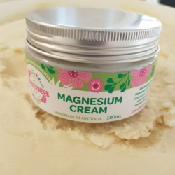 Magnesium Cream 100ml. Handmade in small batches. Quality natural ingredients .