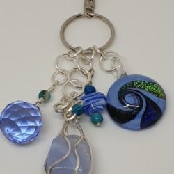 Blue Lace Agate Handbag Accessory