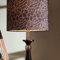 Mid size Hand crafted lampshade, created in Bermagui (shad